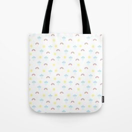 The recipe for rainbows Tote Bag