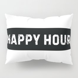 Stamp Series: HAPPY HOUR Pillow Sham