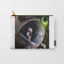 alien ripley painting Carry-All Pouch