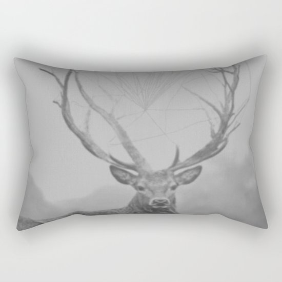 The Deer Rectangular Pillow