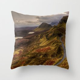Scotland Hills Throw Pillow