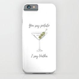 Potato Vodka iPhone Case