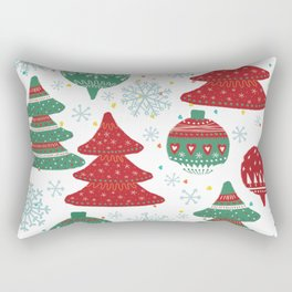 Christmas Pattern 04 Rectangular Pillow