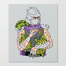 Ninja Pets Canvas Print