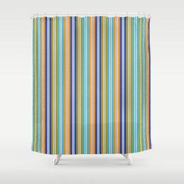 Summer days in Varcaturo Shower Curtain