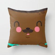 Bear Dad Throw Pillow
