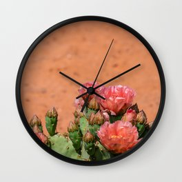 Cacti in Bloom - 5 Wall Clock