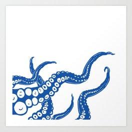 Anyone for calamari? Art Print