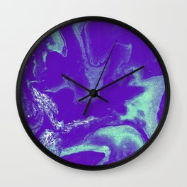 Lavender water Wall Clock