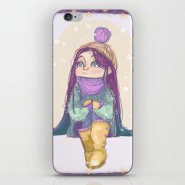 Winter! iPhone Skin