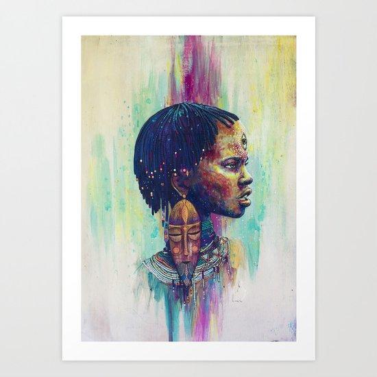 Uhura Art Print