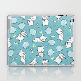 Hungry Westie Puppy Laptop & iPad Skin