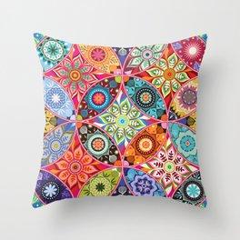 Moroccan bazaar Throw Pillow