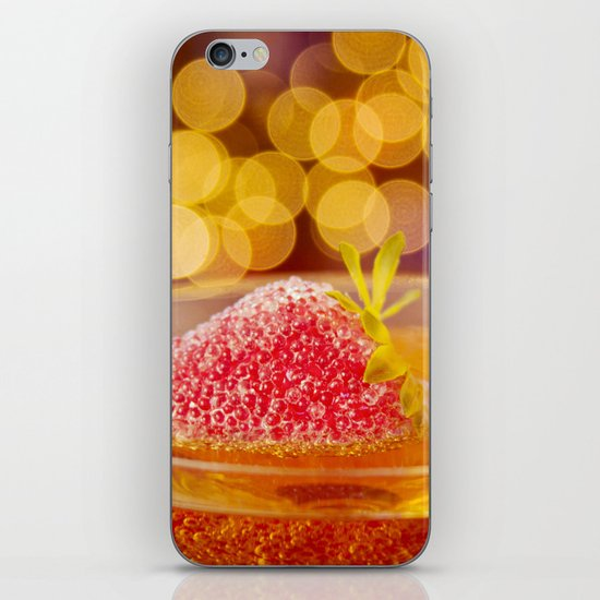 Strawberries and Champagne iPhone & iPod Skin