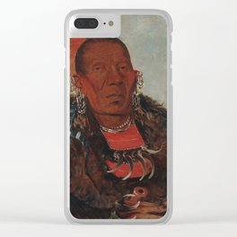 The Surrounder, Chief of the Tribe Clear iPhone Case