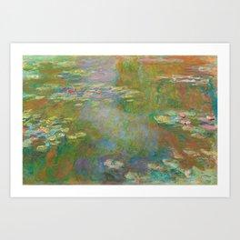 Claude Monet - Water Lily Pond Art Print