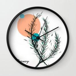 Rosemary, Darling  Wall Clock