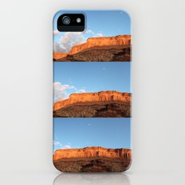Southern Utah Sunset by: Maddie Michael iPhone Case