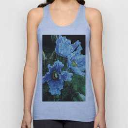 BLUE BLOOMS 2 Unisex Tank Top
