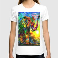 """andreas preis T-shirts featuring """" The old elephant knows where to find some water. """" by shiva camille"""