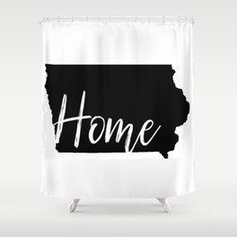 Iowa-Home Shower Curtain