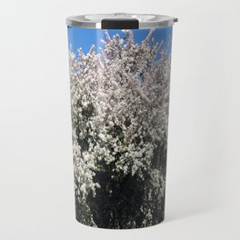 Crab Apple Trees in the Spring Travel Mug
