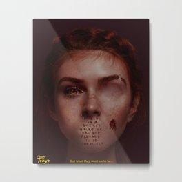 The Society Metal Print