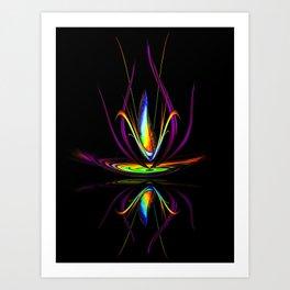 Flowermagic - Light and energy 10 Art Print