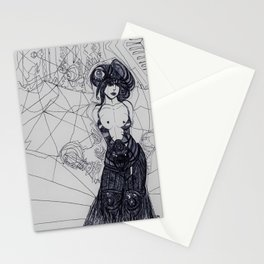 Ms Biro Stationery Cards