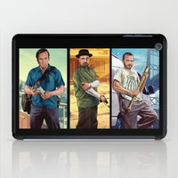 gta iPad Cases featuring Breaking Bad mashup GTA V  by Akyanyme