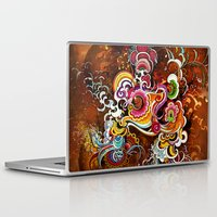 peacock Laptop & iPad Skins featuring Peacock by Nick La
