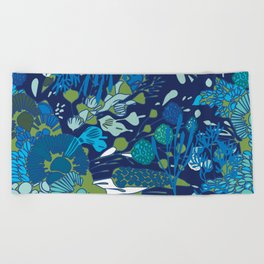 WATER YOU TALKING ABOUT? Beach Towel
