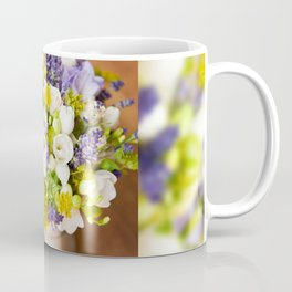 Bridal freesia bouquet wedding flowers Coffee Mug