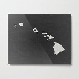 Hawaii Love Metal Print