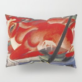 """Franz Marc """"The World Cow"""" Pillow Sham"""