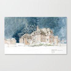 Museum für Hamburgische Geschichte Canvas Print