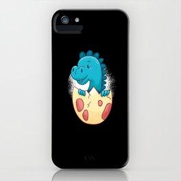 Baby Dino iPhone Case