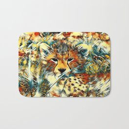 AnimalArt_Cheetah_20171001_by_JAMColorsSpecial Bath Mat