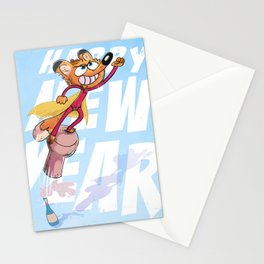 Toward new year and beyond Stationery Cards