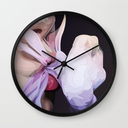 Suck and Blow Wall Clock