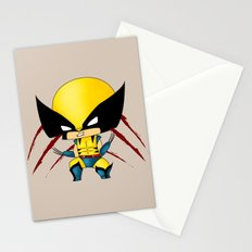 Chibi Wolverine Stationery Cards