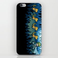 Pixel Jurassic World iPhone & iPod Skin