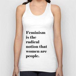 Feminism  Unisex Tank Top