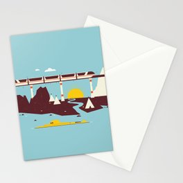 Magical Minimalism Stationery Cards