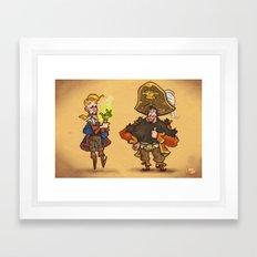 #85 - Tales of Monkey Island Framed Art Print