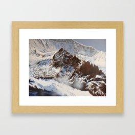 Jagged Framed Art Print