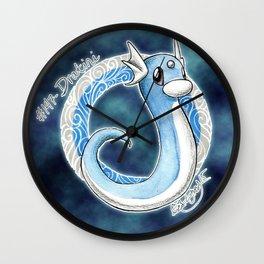 147- dratini Wall Clock