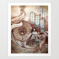 Sentiments Art Print