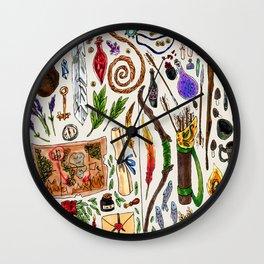 Fantasy Supplies Wall Clock