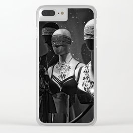 Don't Undress Clear iPhone Case